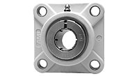 Accu-Loc® Concentric Collar Locking Four-Bolt Flange Unit, UEFPL200MZ20 Series