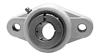 Accu-Loc® Concentric Collar Locking Two-Bolt Flange Unit, UENFL200MZ20 Series-3