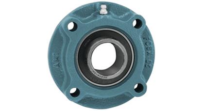 1-7//16 ZINC SET SCREW RF BLACK 4-BOLT FLANGE OPN COV AMI UCFPL207-23MZ2RFCB