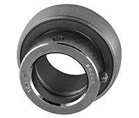 Stainless Steel Eccentric Collar Locking Bearing Insert, MU000 Series