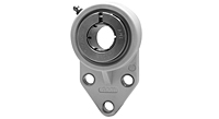 Accu-Loc® Concentric Collar Locking Three-Bolt Flange Bracket Unit, UEFBL200MZ20 Series