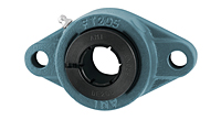 Accu-Loc® Concentric Collar Locking Two-Bolt Flange Unit, UEFT200 Series