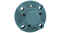 Set Screw Locking Piloted Flange Cartridge Unit With Closed Cover, CUCFC200CE Series