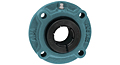 Accu-Loc® Concentric Collar Locking Piloted Flange Cartridge Unit, UEFCSX00 Series